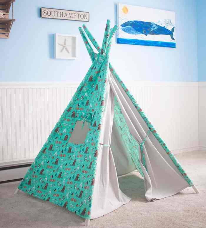 Teepee Play Tent DIY