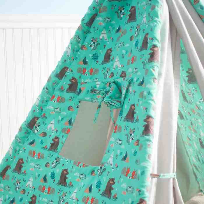 How to sew a teepee play tent