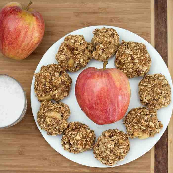 4 Ingredient Vegan Oatmeal Breakfast Cookies