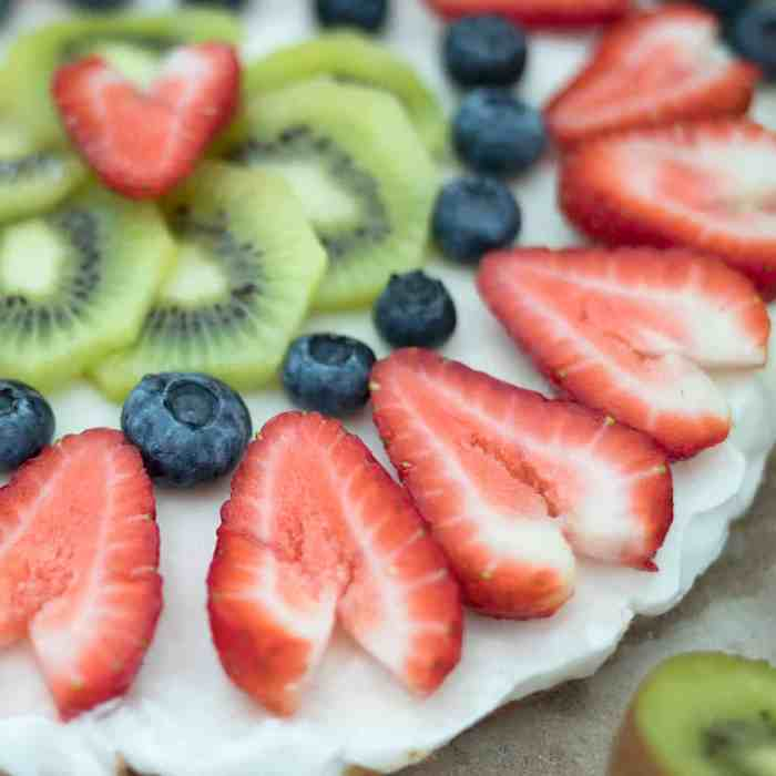Vegan No Bake Fruit Pizza