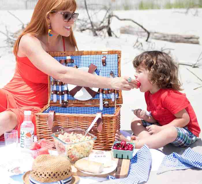 Hamptons Beach Picnic