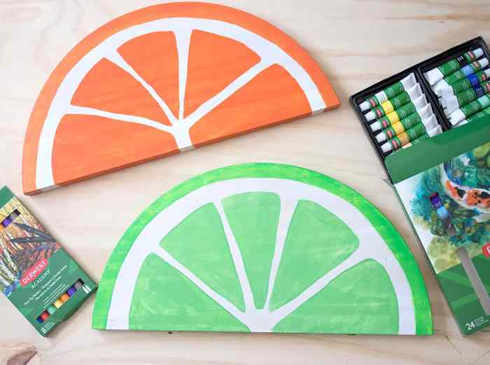 Fruit Slice Tray DIY
