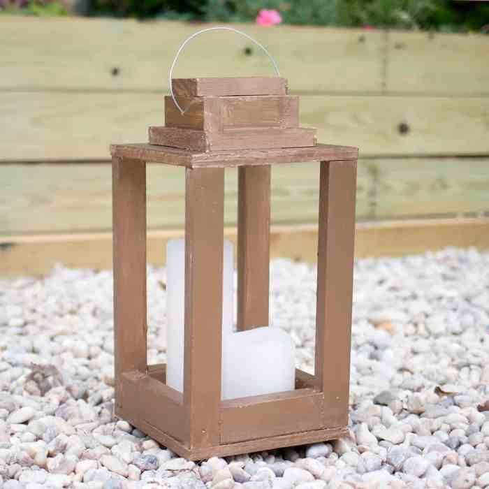 How to Make Rustic Lanterns from Scrap Wood