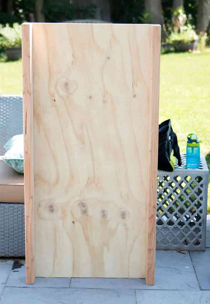 How to Build a Cornhole Board