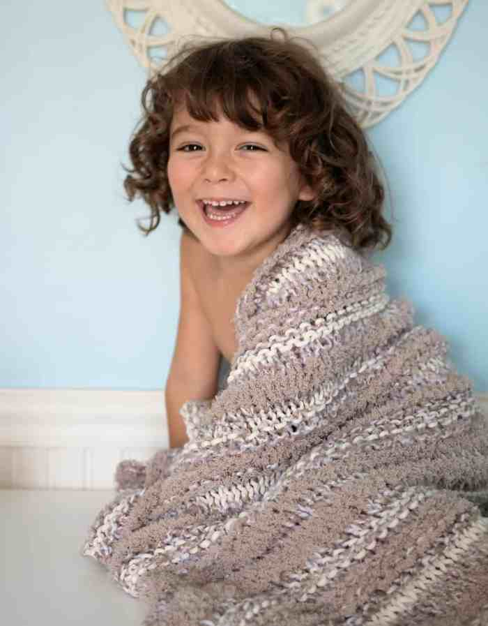Easy Baby Blanket Knitting Pattern