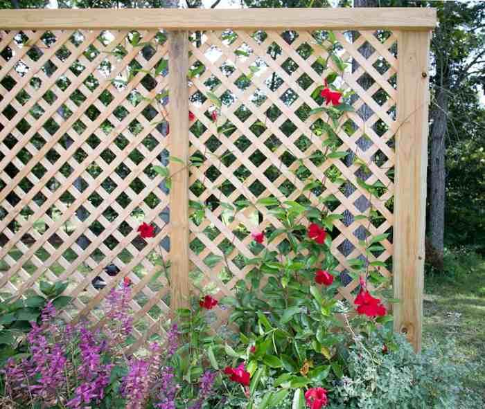 Privacy Screen Planter DIY