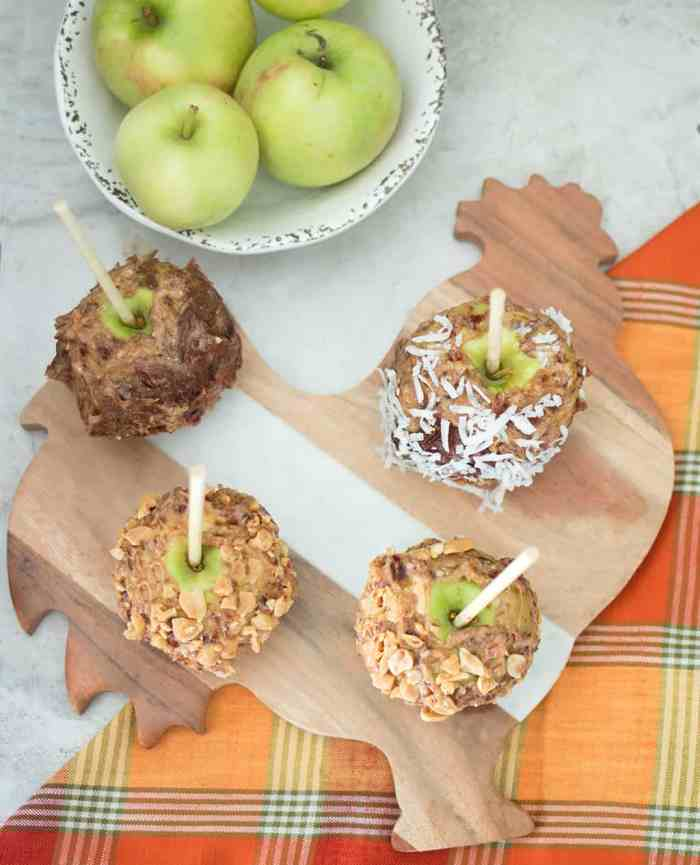 Easy Vegan Caramel Apples