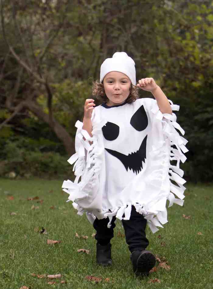 No-Sew Halloween Costume for Kids