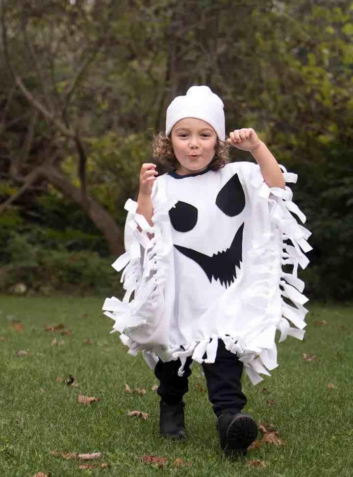 No-Sew Halloween Costume for Kids