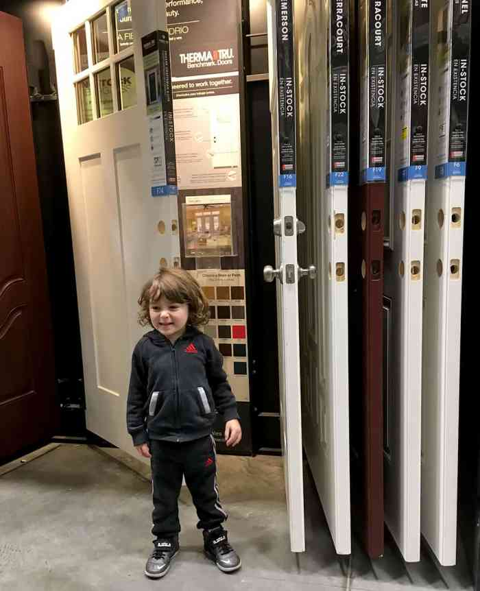 Therma-Tru Benchmark doors at Lowe's