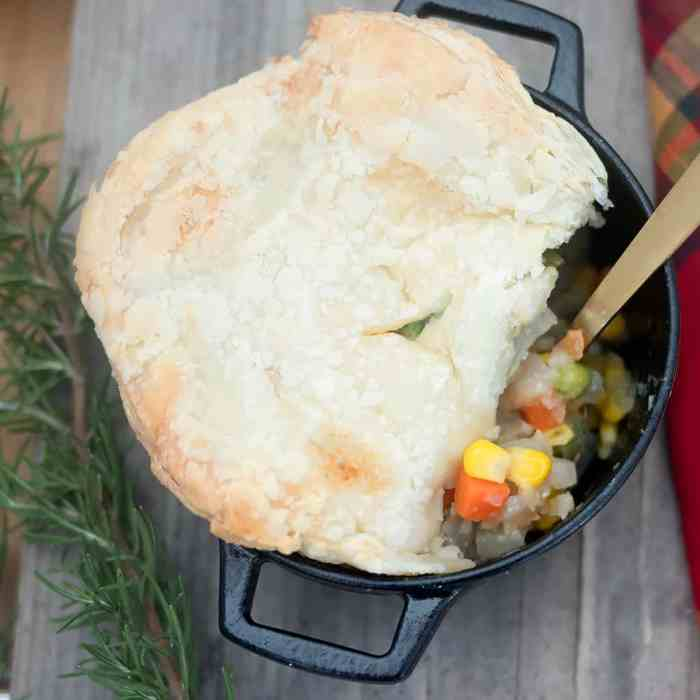 Easy Vegan Pot Pies