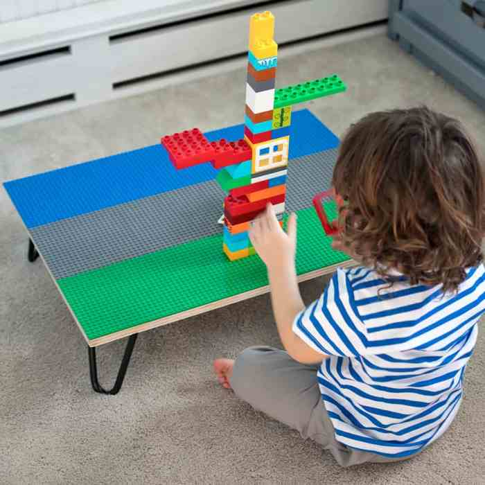 Lego Table DIY by Gina Michele Blog