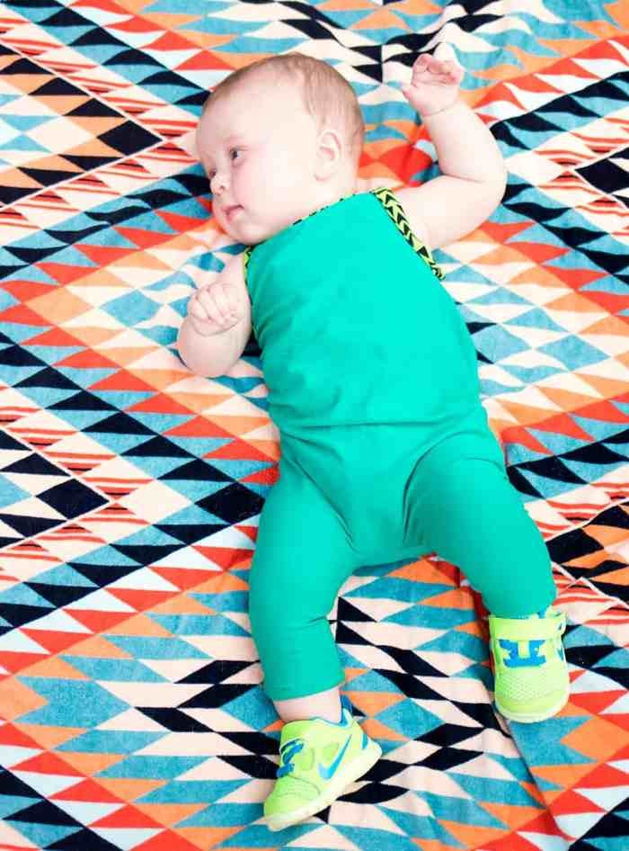 How to Sew a Baby Romper- No Pattern Necessary!