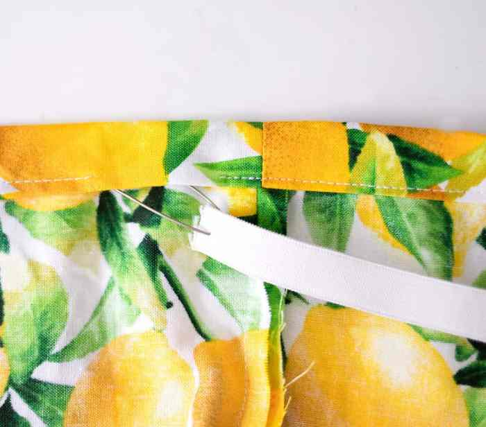 How to Sew a Contoured Changing Pad Cover