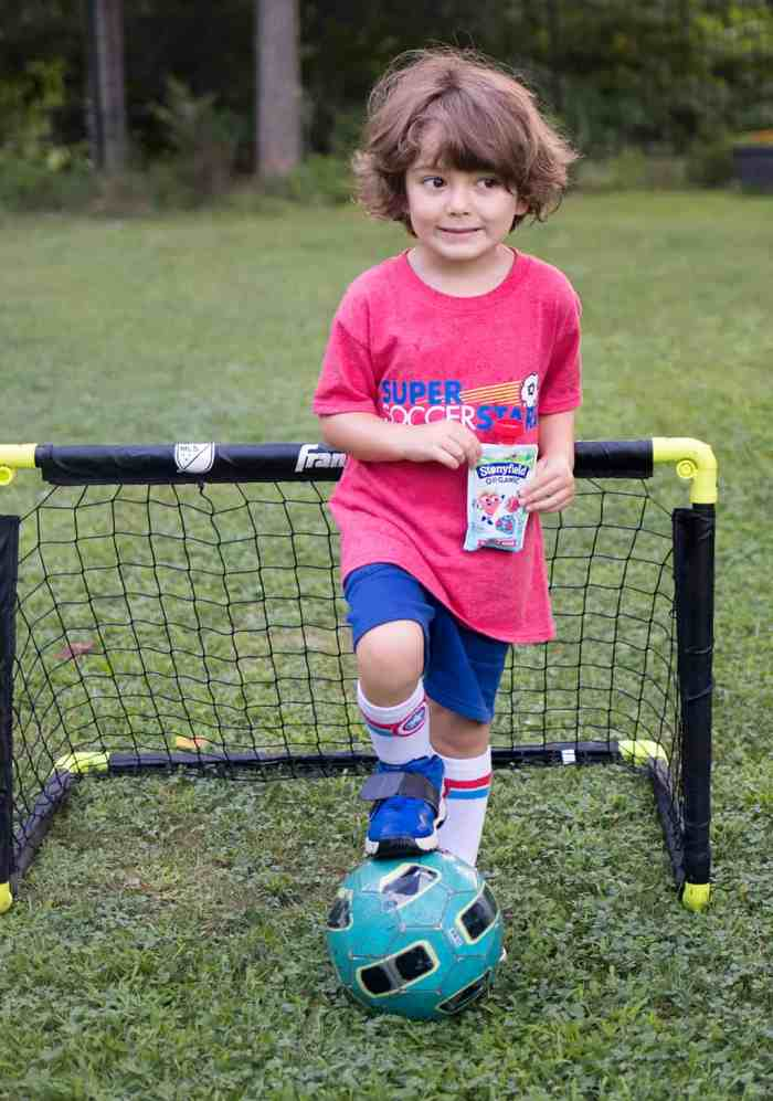 Organic Snacks and Playing Fields with Stonyfield