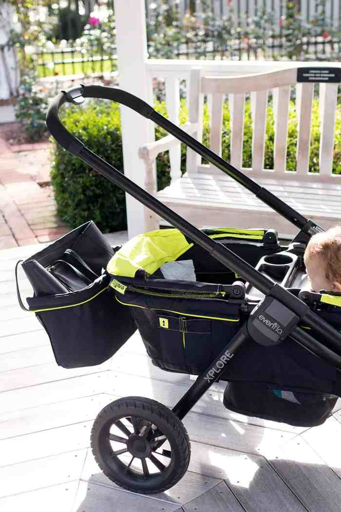 Evenflo Pivot Xplore All-Terrain Double Stroller Wagon Review