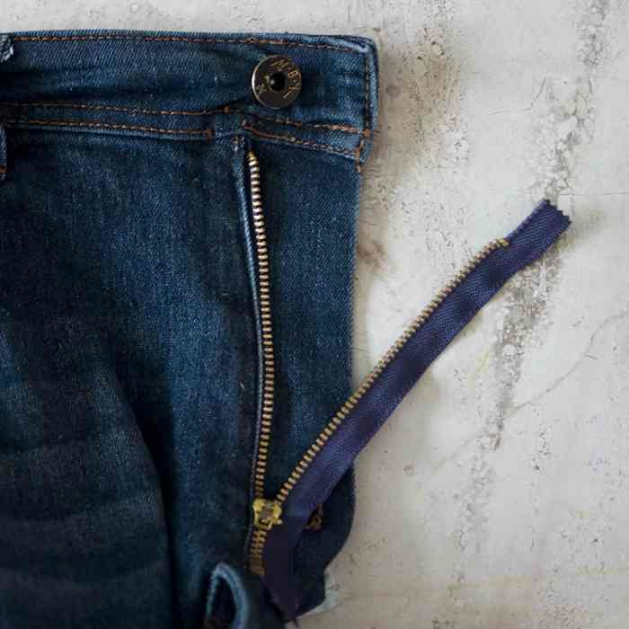How to Replace a Broken Zipper on Jeans