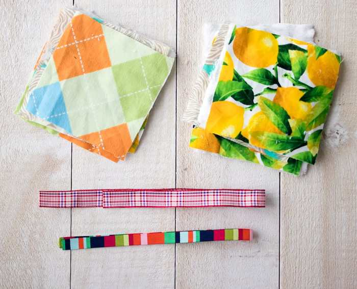 How to Sew Baby Blocks with Tags