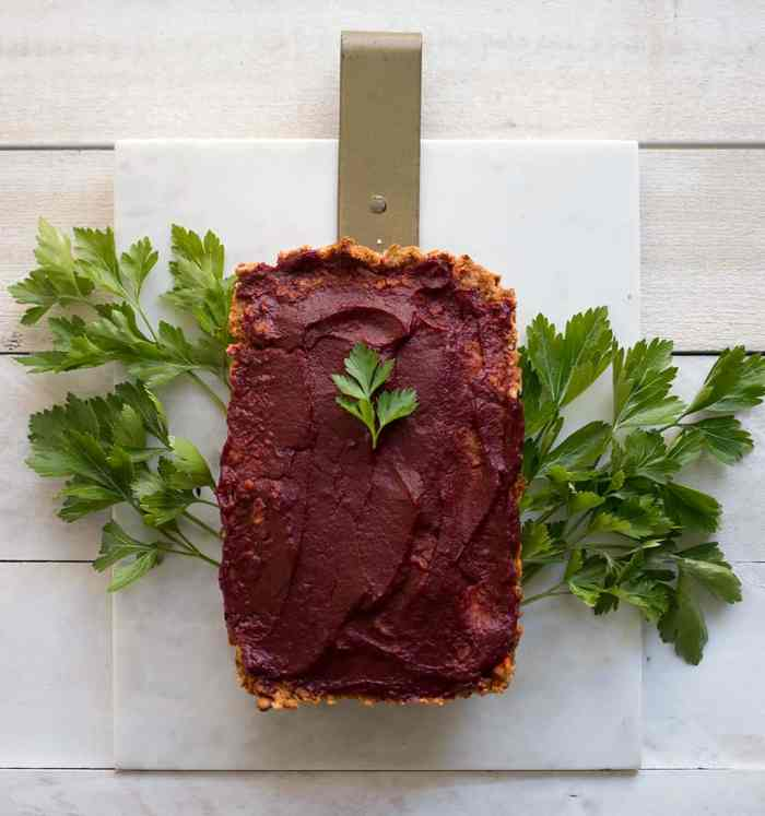 The Best Vegan Chickpea Meatloaf