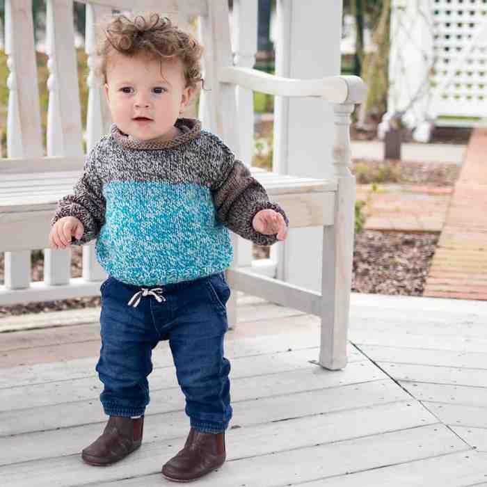 Beginner Baby Sweater Knitting Pattern