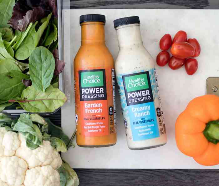 Power Dressings from Healthy Choice