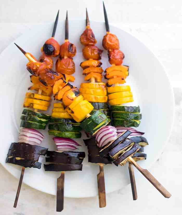 The Best Rainbow Veggie Skewers Sponsored by Wayfair