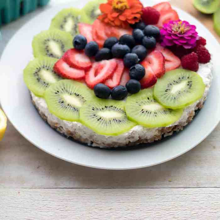 No Bake Coconut Tart Vegan and Gluten Free