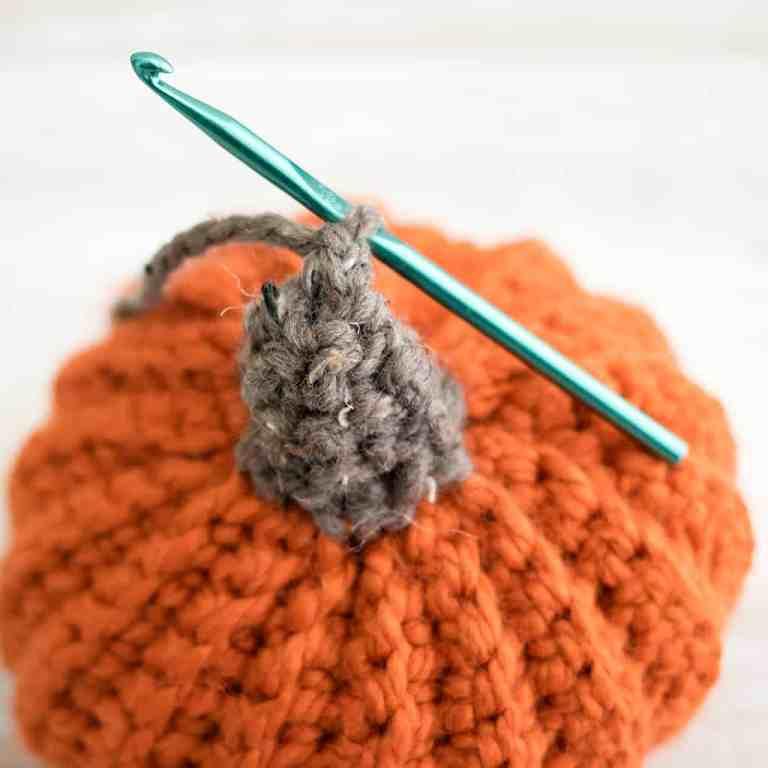 Easiest Large Pumpkin Crochet Pattern