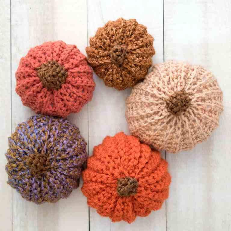 How to crochet pumpkins
