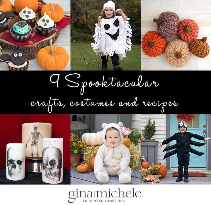 9 Spooktacular Halloween Crafts, Costumes and Recipes