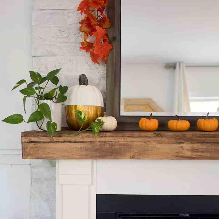 DIY Mantel and Fireplace Upgrade with Wayfair