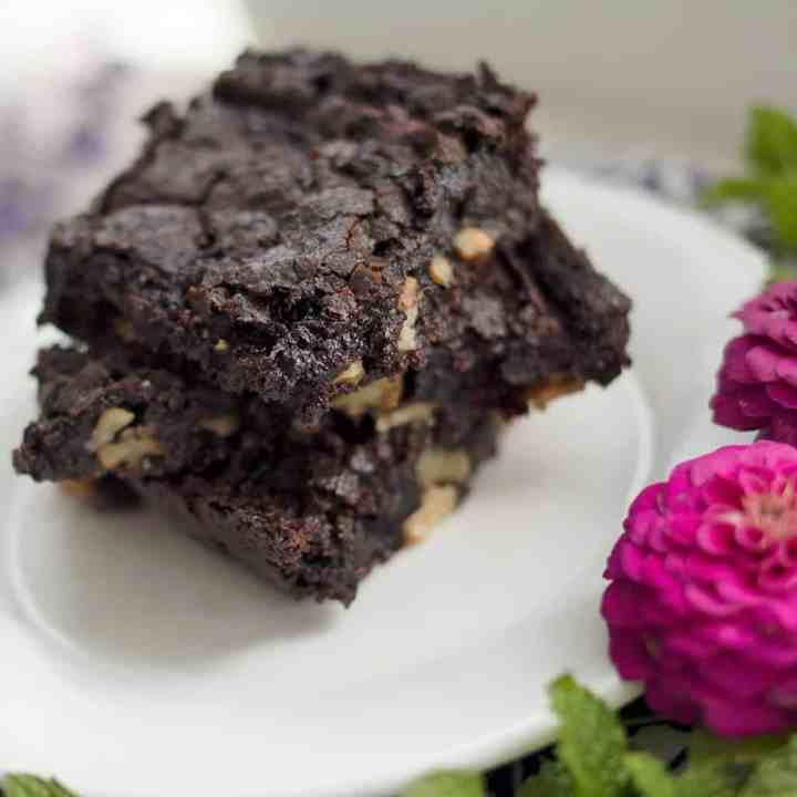 Best Vegan Fudgy Brownies