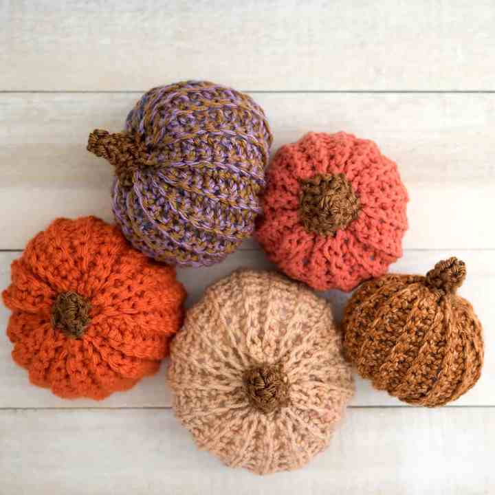 How to Crochet Pumpkins