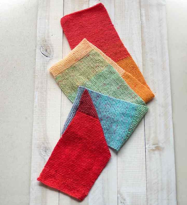 Easy Lion Brand Mandala Scarf Knitting Pattern