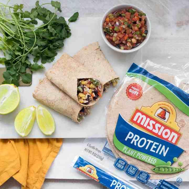 The Best Vegan Protein Burritos