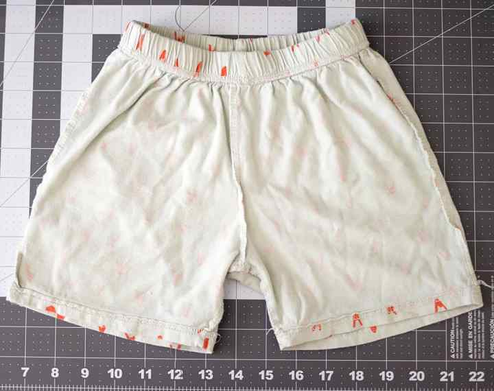 How to Make a Sewing Pattern out of Existing Shorts