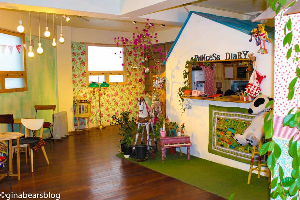 princess diary cafe in seoul