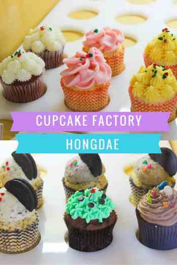 cupcake factory hongdae