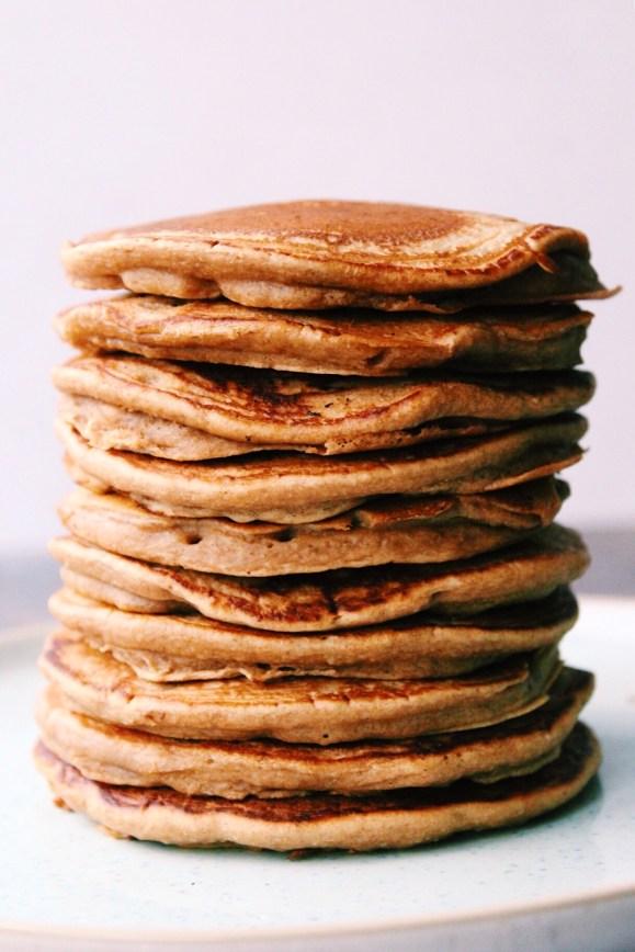 Vegan Gingerbread Pancakes {vegan, gluten free}
