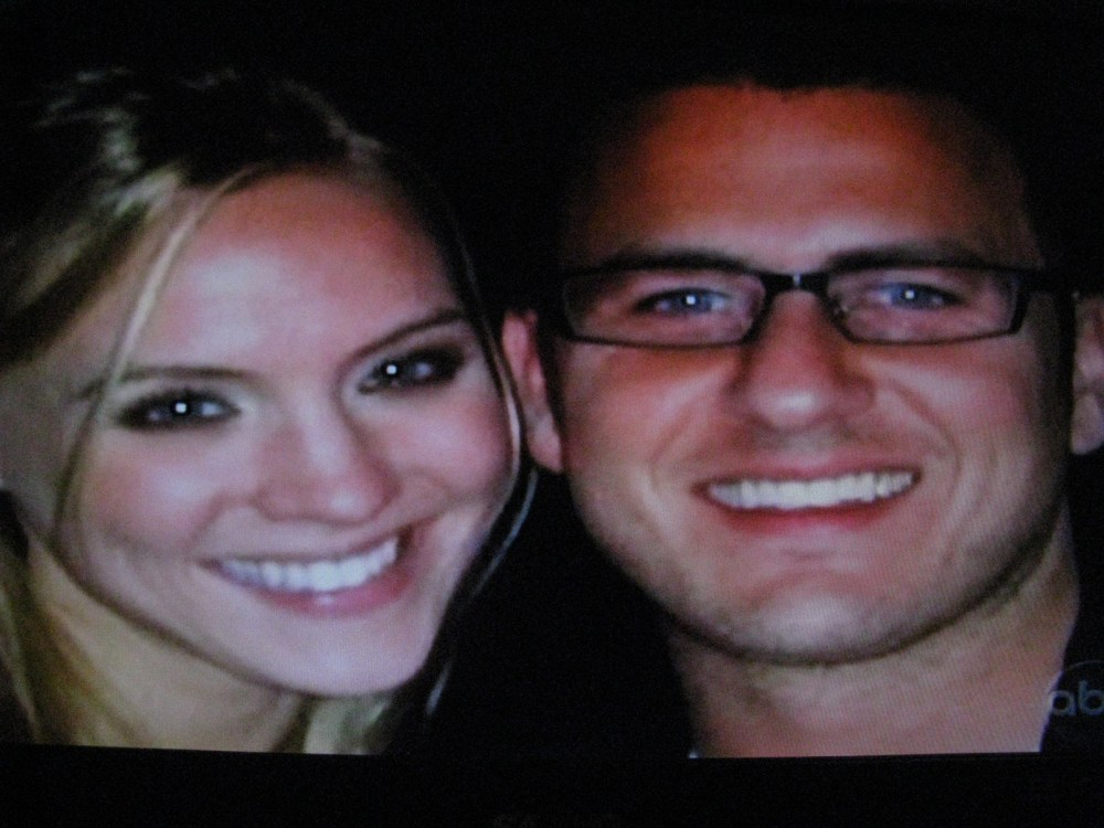 (Update: Not anymore!) Reid Rosenthal of 'The Bachelorette' is still dating Miss USA Kristen Dalton. Sad face. (1/3)