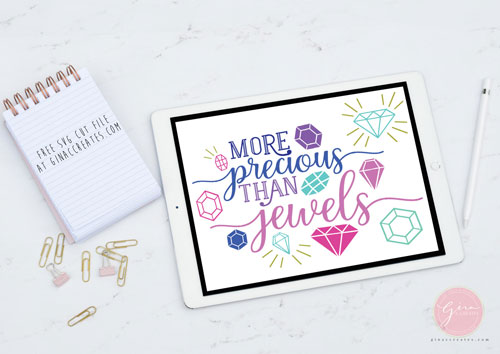 more precious than jewels svg