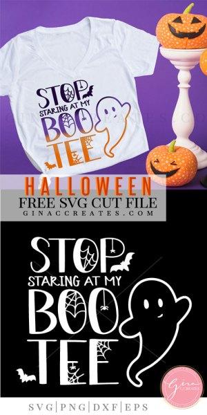 stop staring at my boo-tee free svg