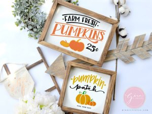 pumpkin patch, farm fresh pumpkins svg