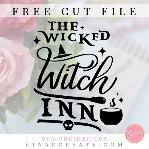free svg wicked witch inn halloween