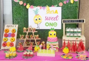 fruit berry sweet birthday party