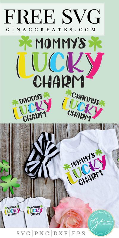 mommy's lucky charm free svg bundle, St. Patrick's day crafts