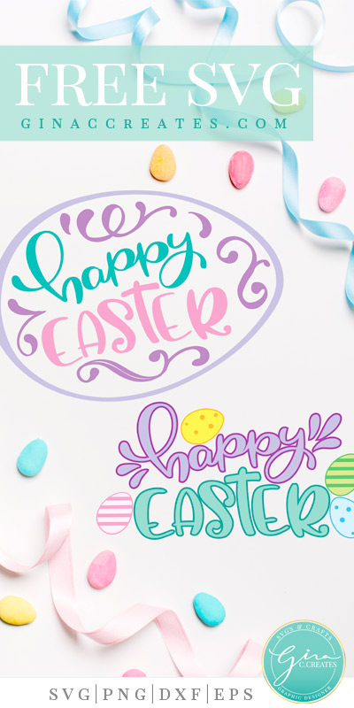 happy easter free svg, holiday svg