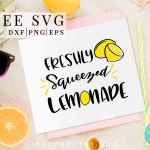 lemon free svg, summer svg