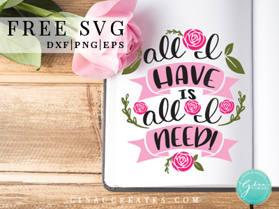 spring pillow, spring free svg, All I need