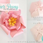 how to make a paper flower peony